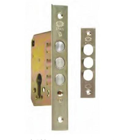 Cerradura de seguridad de embutir para puertas de madera amig - Cerrojo de seguridad para puertas ...