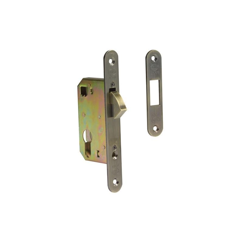 Cerradura de embutir para puertas correderas amig for Cerradura puerta corredera