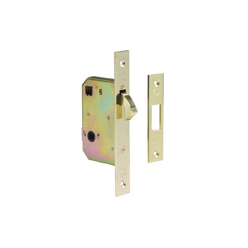 Cerradura de embutir con condena para puertas correderas amig for Cerradura puerta corredera